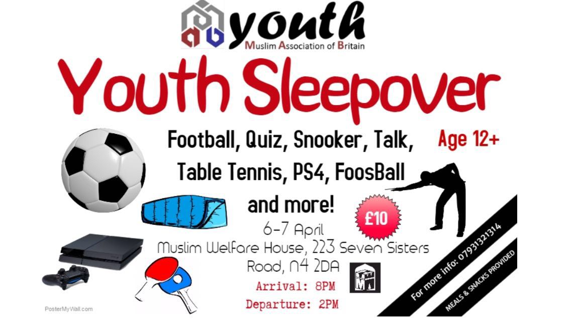 Youth Sleepover