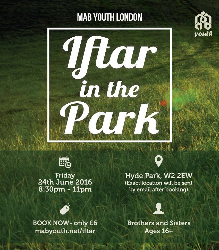 Iftar in the Park