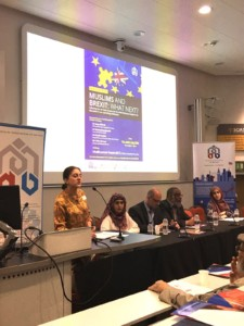 Dr Shenaz Bunglawala speaking at the MAB Brexit Conference