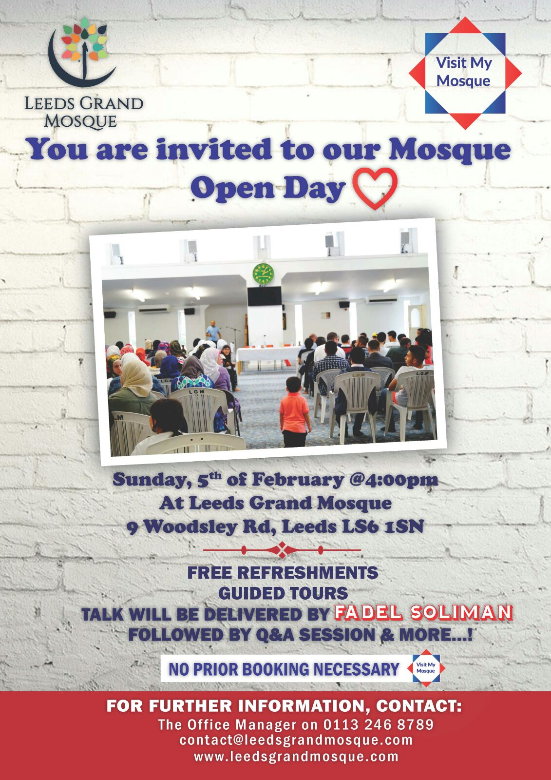 Visit My Mosque - Leeds