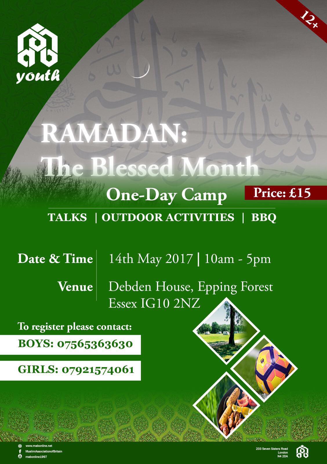 Prepare Ramadan - One-Day Camp