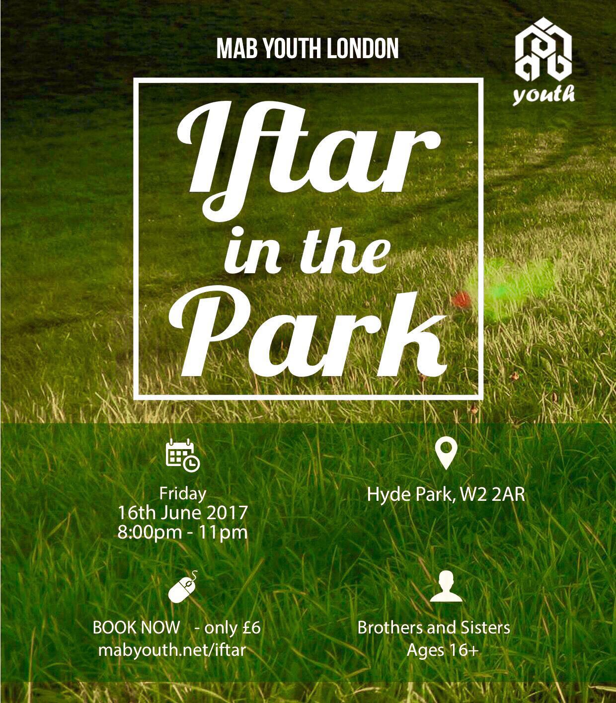 **Iftar in the Park**