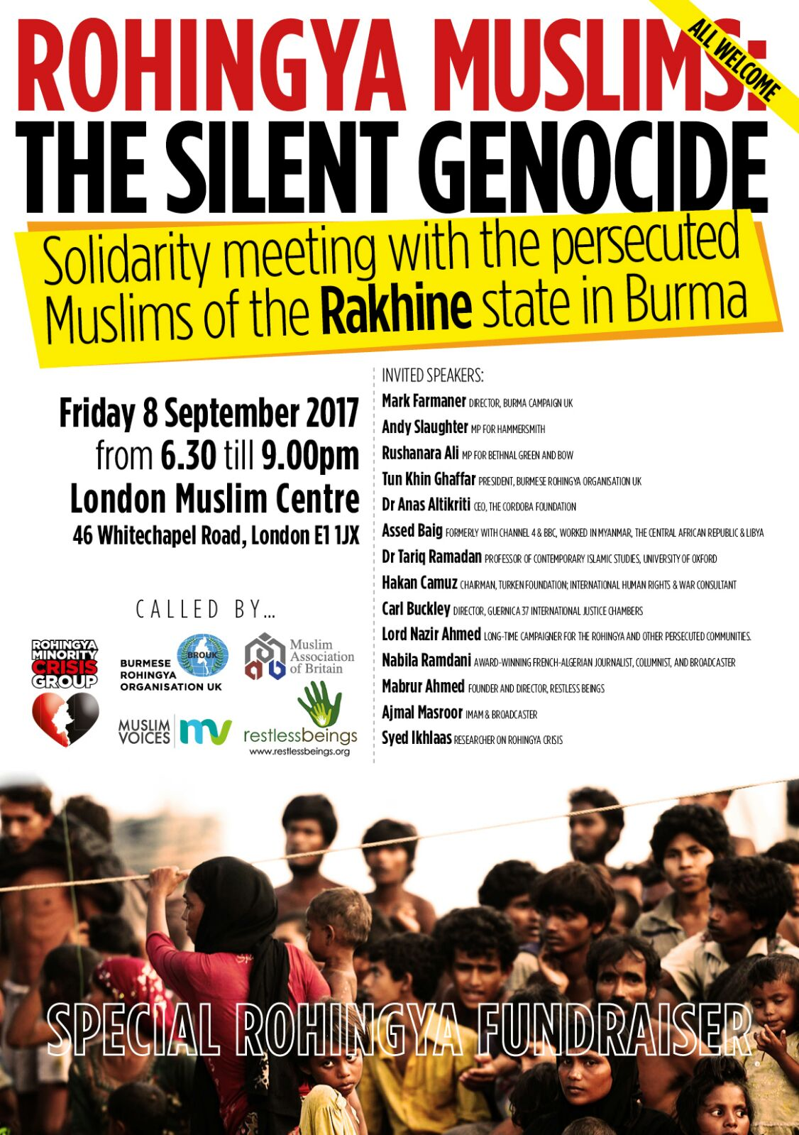 Rohingya Muslims: The Silent Genocide