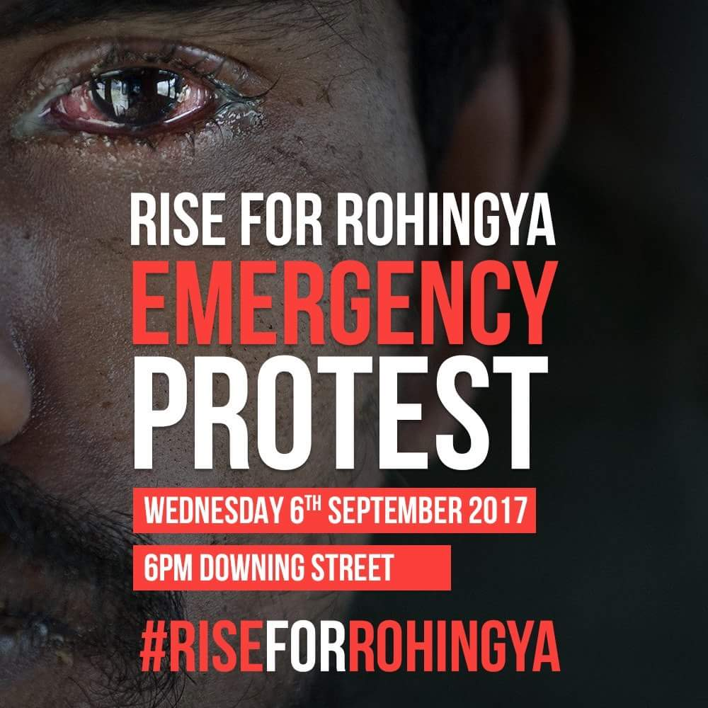**Emergency Protest for Rohingya**