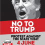 Join the national protest against Trump's state visit